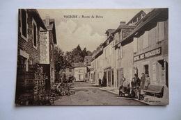CPA 19 CORREZE VIGEOIS. Route De Brive. - Autres Communes