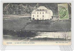BODANGE ..--  La Sûre Et  L ' Hôtel De La GARE . 1908 Vers PARIS . Voir Verso . - Fauvillers
