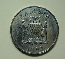 Zambia 25 Ngwee 1992 - Zambie