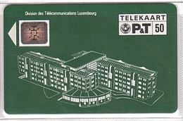Luxembourg - PS01_A, Division Des Telecommunications Luxembourg, CN 17572, SC4, 3.500 Ex, 1990, Used - Luxembourg