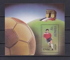 BLOC-FEUILLET N°54 NEUF** COUPE DU MONDE FRANCE 98 - Chile