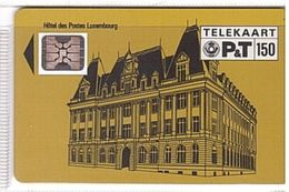 Luxembourg - PS02_A, Hotel Des Postes Luxembourg, 150 Units, CN 17597, SC4, 3.500 Ex, 11/90, Used - Luxembourg