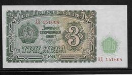 Bulgarie - 3 Leva  - Pick N°81 - Neuf - Bulgarie