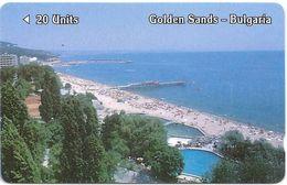 Bulgaria - Golden Sands, 1BULD, 06-1990, 13.000ex, Used - Bulgaria