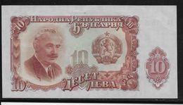 Bulgarie - 10 Leva  - Pick N°85 - Neuf - Bulgarien