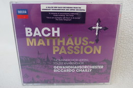 "2 CDs ""Bach Matthäus-Passion"" Thomanerchor Leipzig, Tölzer Knabenchor, Gewandhausorchester Riccardo Chailly - Klassik"