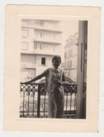 26473-  4 Photos Photo NICE FRANCE -vacances 1953 -hotel Rivoli Balcon - Lieux