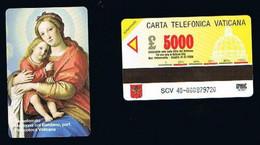 VATICANO-VATICAN-VATICAN CITY - NUOVA  CAT. C&C  6040 -  IL SASSOFERRATO . MADONNA CON IL BAMBINO - Vatican