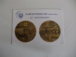 Energy Energia E.D.P. Portugal Portuguese Pocket Calendar 1999 - Calendriers
