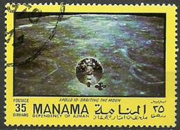 MANAMA   ESPACIO AÑOS 70 APOLLO 10/11 - Space