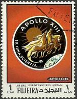 FUJEIRA    ESPACIO AÑOS 70 APOLLO XIII - Space