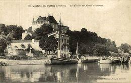 CASTETS EN DORTHE---Les Ecluses Et Chateau Du Hamel-- - France