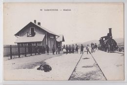 Sarouiteh (Macédoine Macedonia) - Station - Train En Gare - Edition Parisiana - Grèce