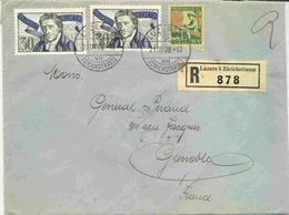 Lettre Recommandée De Suisse - Schweiz