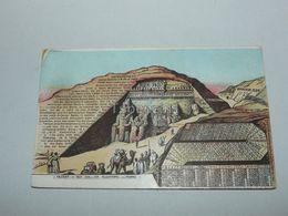 Kalender Von 1800-2000 N. Chr. Felsentempel Von Ipsambul, Turkey - Turchia