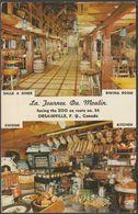 Le Tournee Du Moulin, Orsainville, Quebec, 1961 - Schermer Postcard - Quebec
