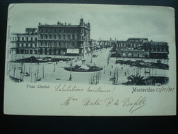MONTEVIDEO : Plaza Libertad In 1901 - Uruguay