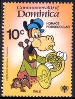 308 Dominica Disney Horace Trombonne Music Music MNH ** Neuf SC (DMN-84) - Musique