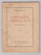 Don Efisio Soletta - Sardegna Vendicata, Vol. 2 (1931). - Books, Magazines, Comics