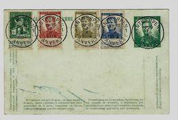 Belgie -Belgique  Telegramkaart Gestempeld - Obliteré Antwerpen - Stamped Stationery