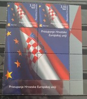 Croatia, 2013, Mi: 1084 , Pair With Labels (MNH) - Kroatië