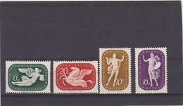 1940 Arts Mi. 643/46, Yv. 562/65, Scott B126/29  MNH Postfrisch     136 - Hongrie