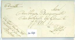 REGISTERED BRIEFOMSLAG Uit 1817 KAPT: KOM. MAN. ARTILL. Te GRONINGEN Aan BURGEMEESTER Te DELFZIJL J.J. VOS (16.673) - ...-1852 Prephilately
