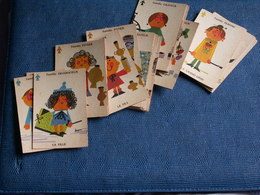 ANCIEN JEU Des 7 Familles  ( Manque 3 Cartes ) - Carte Da Gioco