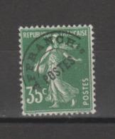 FRANCE / 1922-1947 / Y&T Préo N° 63 : Semeuse 35c Vert - Sans Gomme - 1893-1947