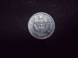 MOLDAVIE = 1 MONNAIE DE 25 BANI  DE 2008 - Moldavie