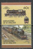 St. Vincet Grenadines 1987. Scott #321 (MNH) Locomotive, 1930 Class V1 UK * - St.Vincent & Grenadines