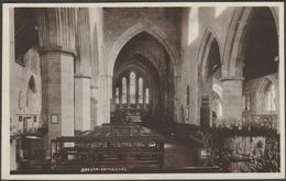 Brecon Cathedral, Breconshire, C.1930s - RP Postcard - Breconshire
