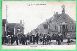 4 - SAINT SAUVEUR - LA MAIRIE - PLACE DU CENTRE - Francia
