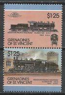 St. Vincet Grenadines 1987. Scott #334 (MNH) Locomotive, 1902 Class P-69 US * - St.Vincent & Grenadines