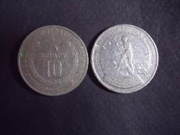 MADAGASCAR = 1 MONNAIE DE 1 FRANC  DE 1975 - Madagascar
