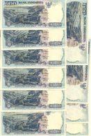 INDONESIE 1000 RUPIAH 1992/1996 UNC P 129 E  ( 10 Billets ) - Indonésie