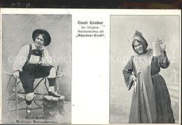 60103137 Humor Gusti Gruber Weiblicher Gesangskomiker Muenchner Kindl / Humor / - Unterhaltung