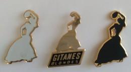 Pin's - Tabac - Cigarettes - GITANES - Lot De 3 Pin's - - Marcas Registradas