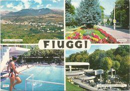 X1303 Fiuggi (Frosinone) - Panorama Vedute Multipla / Viaggiata 1972 - Italia