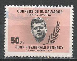 Salvador, El 1964. Scott #749 (U) Pres. John F. Kennedy * - Salvador