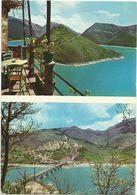 X1306 Castel Di Tora (Rieti) - Panorama E Lago Di Turano / Viaggiata 1968 - Italia