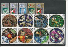 BURUNDI Scott 428-0, C181-2, 431-4, C183-6 Yvert 561-3, PA271-2, 564-7, PA273-8 (37)  O  Cote 9,00 $ 1973 - Burundi