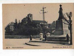 88 NEUFCHATEAU Monument Aux Morts De 1870 - Neufchateau
