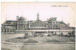 62  ARRAS  1919   LA GARE EN TRAVAUX   TBE        1I253 - Arras