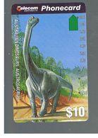 AUSTRALIA -  ANIMALS: AUSTROSAURUS       - USED  - RIF. 10308 - Australia