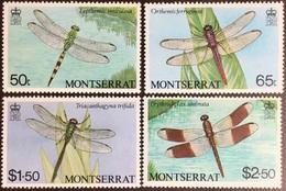 Montserrat 1983 Dragonflies Insects MNH - Zonder Classificatie
