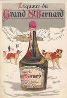 Martigny - Distillerie Morand - Liqueur Du Grand St.Bernard - Rare    (P-123-60821) - VS Valais