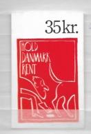 1991 MNH Danmark, Booklet S60  Postfris - Carnets