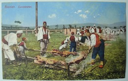 Bosnien. - Lammbraten. - Ca. 1910. - Europe