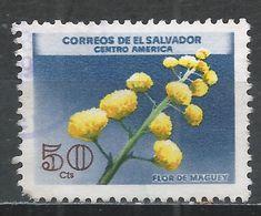 Salvador, El 1965. Scott #755 (U) Flower, Maguey * - Salvador